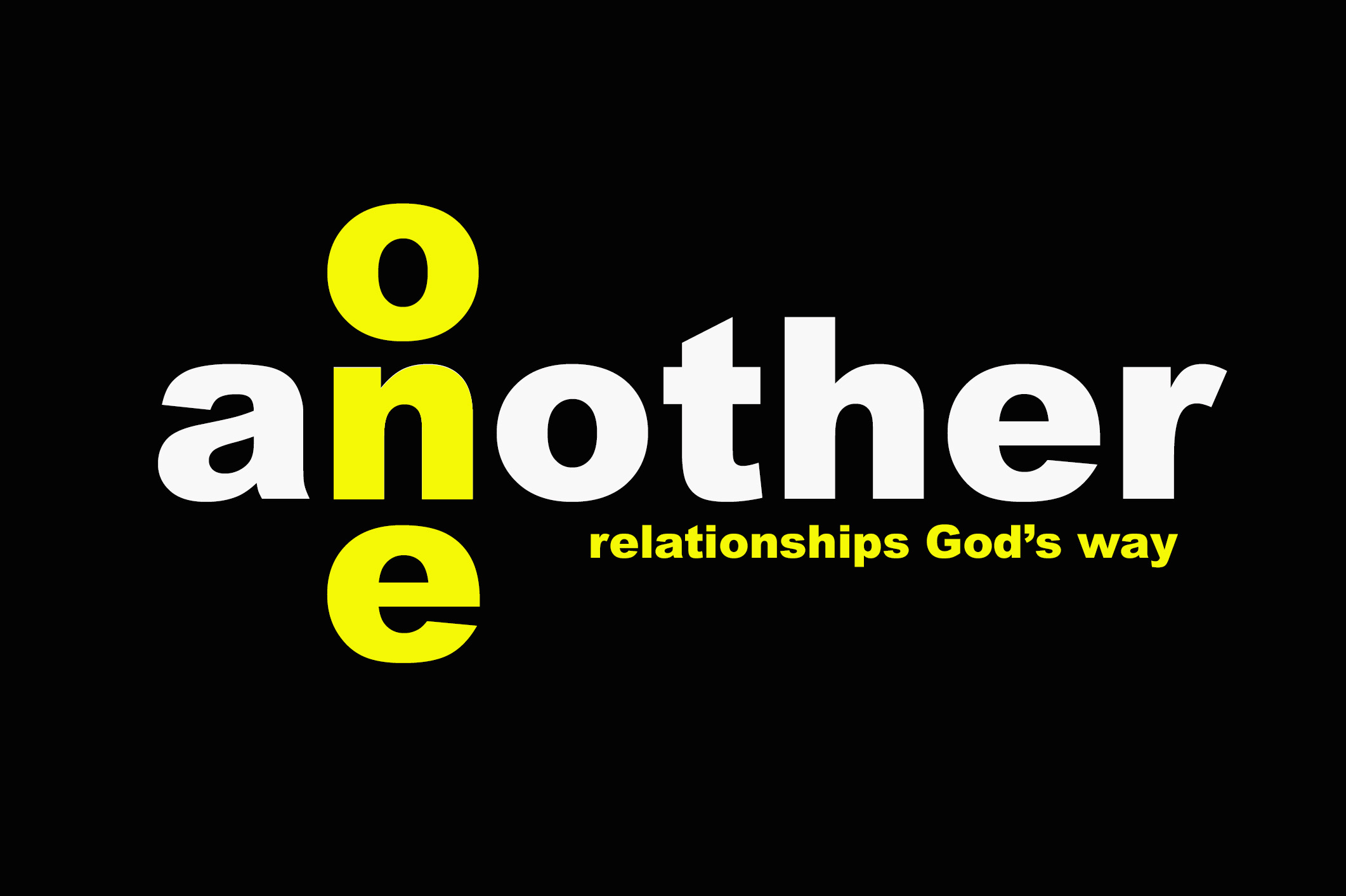 One Another - Forgive One Another